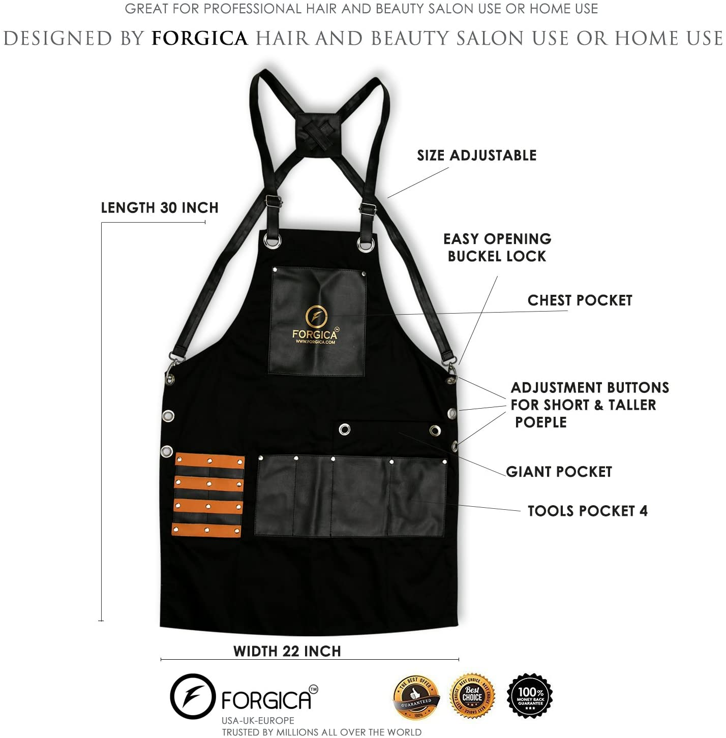 Technical Specifications of apron